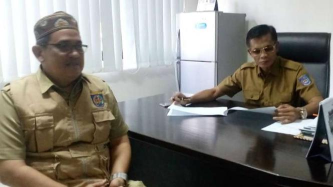 Kepala Seksi Pengendalian Pencemaran dari DLHK Kota Depok Muhammad Isa.
