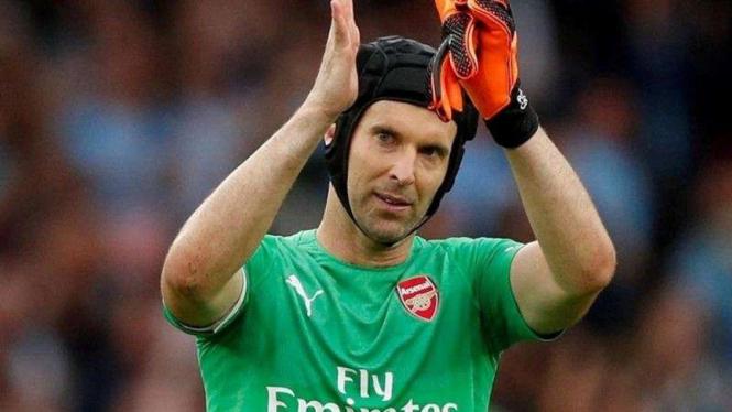 Penjaga gawang Arsenal, Petr Cech
