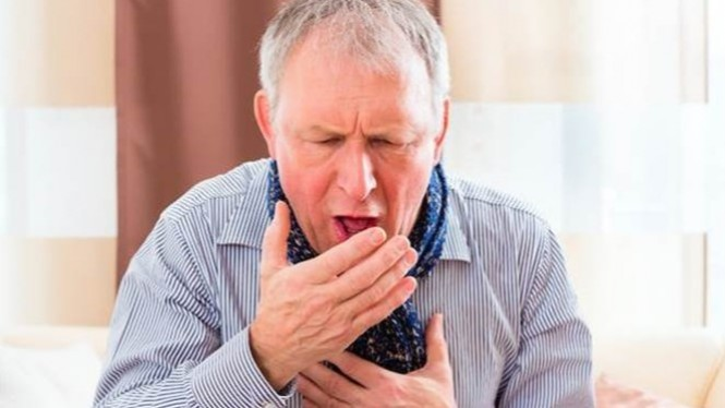 Ilustrasi penderita TBC.