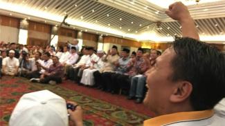 Acara BPN mengungkap kecurangan Pilpres 2019 di Hotel Sahid