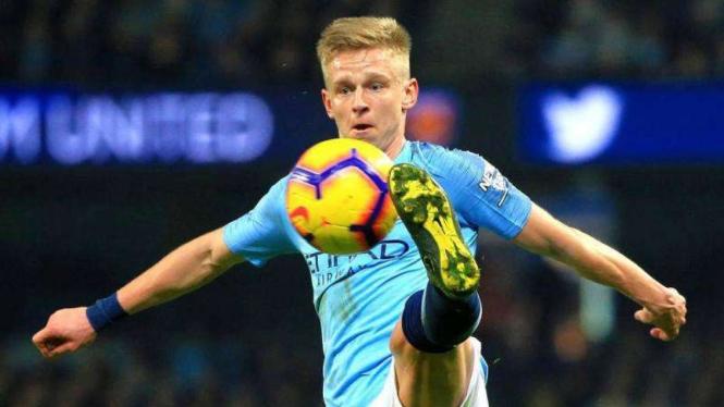 Wing-back Manchester City, Oleksandr Zinchenko