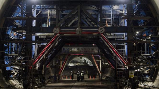 Terowongan Walini Kereta Cepat Jakarta-Bandung