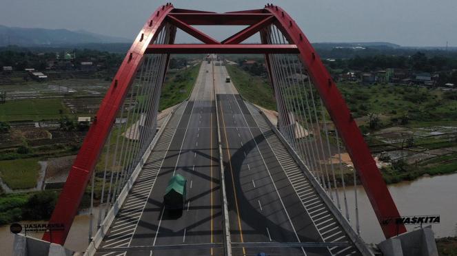 Jembatan Kali Kuto, Jalur Mudik Tol Trans Jawa
