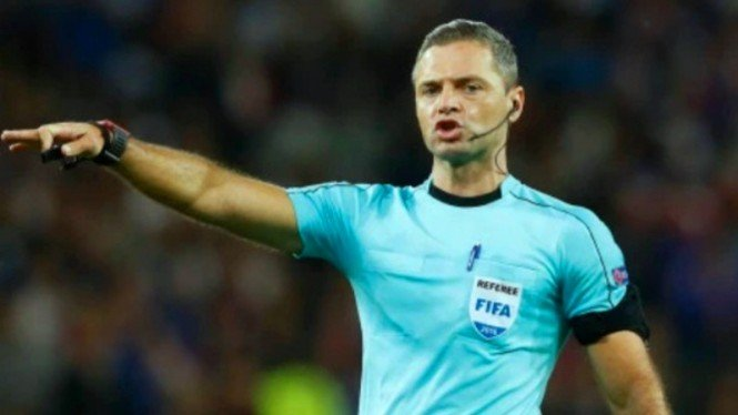 Wasit yang akan bertugas pada final Liga Champions, Damir Skomina