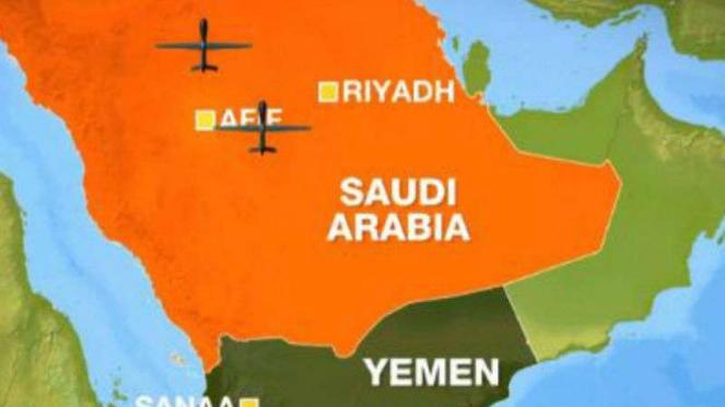 Pangkalan minyak Saudi Arabia diserang Hutsi menggunakan drone