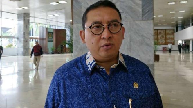 Anggota DPR, Fadli Zon.