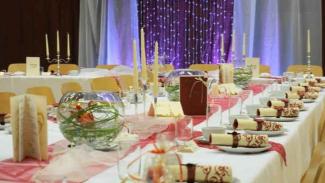 Pesta pernikahan.