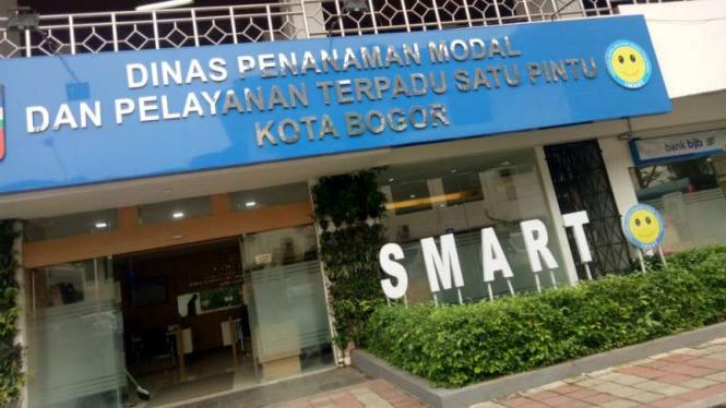 Kantor Dinas Penanaman Modal dan Pelayanan Terpadu Kota Bogor