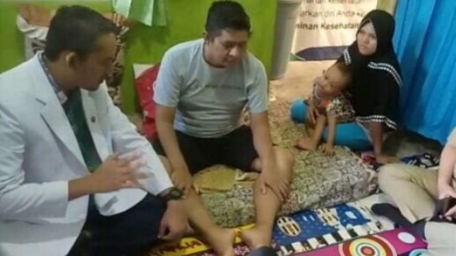 Primadoni (38 tahun) diserang penyakit langka usai liput pemilu.
