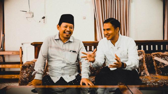 KH Mu'tashim Billah dan CEO KESAN Hamdan Hamedan