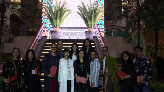 Para desainer menampilkan koleksi  'Blessings of Ramadan' di Plaza Indonesia.