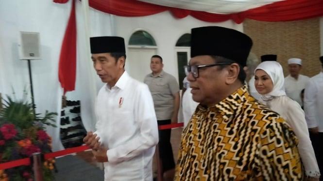 Presiden Jokowi buka bersama Ketua DPD Oesman Sapta Odang