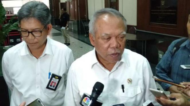 Menteri PUPR Basuki Hadimuljono .