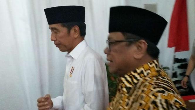 Jokowi dan Ketua DPD Oesman Sapta Odang