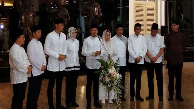 Delapan kepala daerah bersama AHY bertemu di Komplek Istana Bogor