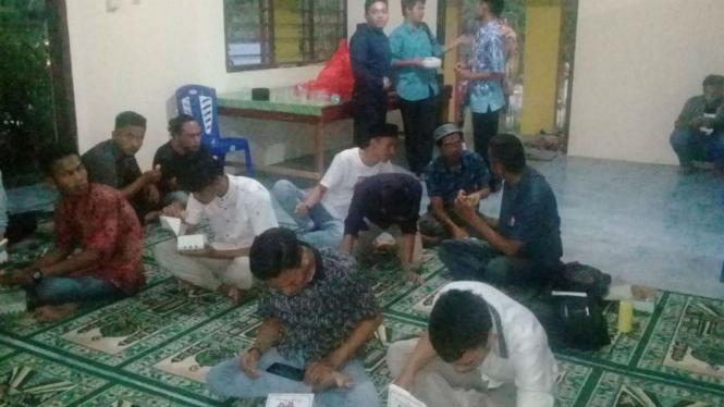 Buka puasa bersama jemaat Ahmadiyah Manado