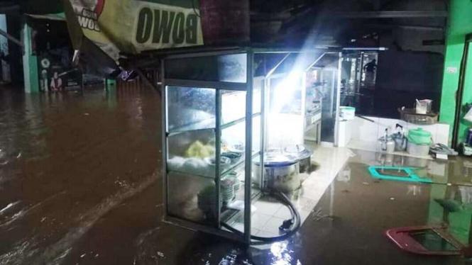 Banjir di Kampung Utan, Citayam Depok