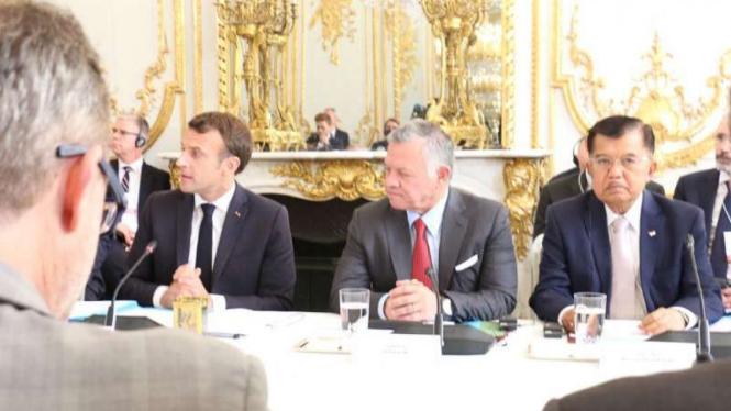 Wakil Presiden Jusuf Kalla  'Christchurch Call to Action'  di Paris, Prancis.