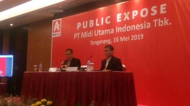 Public Expose PT Midi Utama Indonesia Tbk.