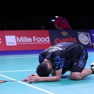 Ditinggal ke China, Medali Emas Jonatan Christie Raib di SEA Games