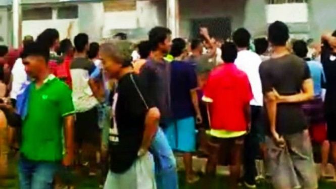 Kerusuhan di Lapas Narkotika di Kabupaten Langkat, Sumatera Utara, pada Kamis siang.