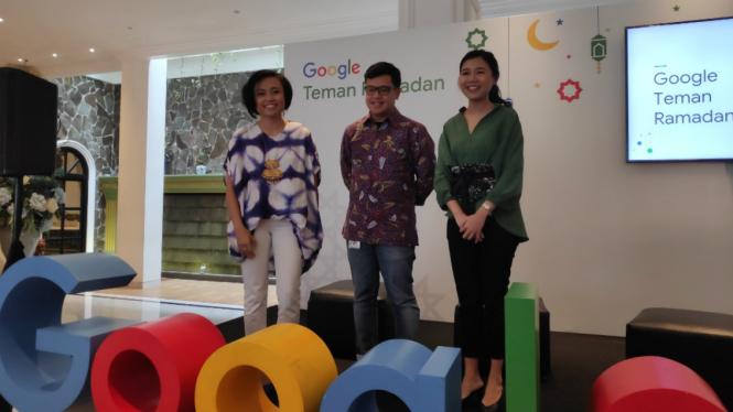 Konferensi Pers Google Ramadan
