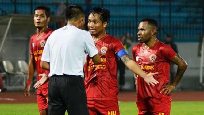 Para Pemain Kalteng Putra.