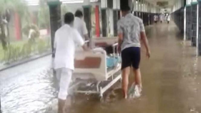 Banjir RSUD AW Syahranie, Samarinda, Kaltim