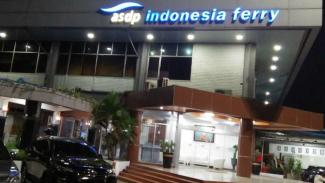 Kantor PT ASDP Indonesia Ferry Cabang Merak di Banten.