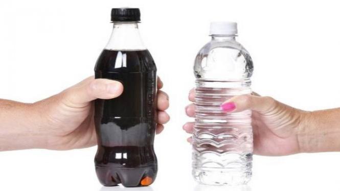 Mengganti air putih dengan soda