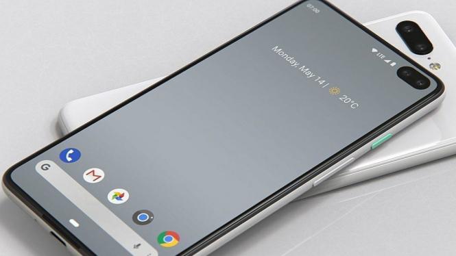 Bocoran desain Google Pixel 4