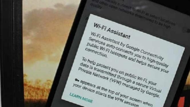 Ilustrasi Wi-Fi.