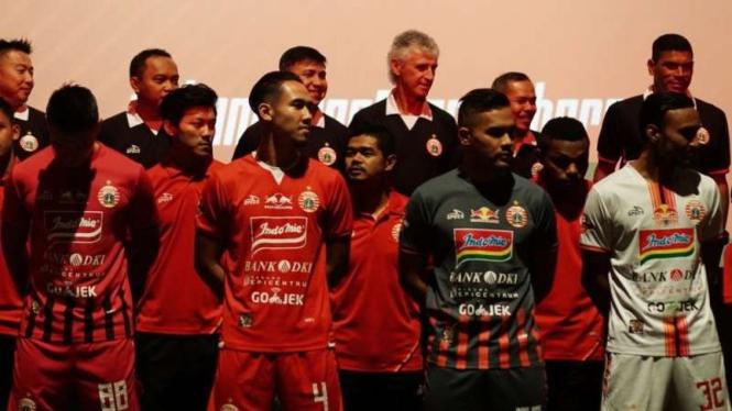 Launching jersey anyar Persija Jakarta