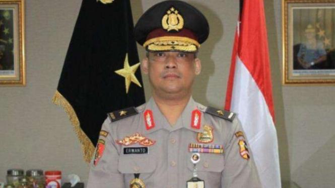 Almarhum Brigadir Jenderal Polisi Erwanto Kurniadi.