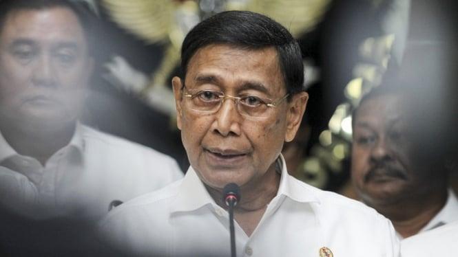 Sorot Orba Jilid Dua Menko Polhukan Wiranto