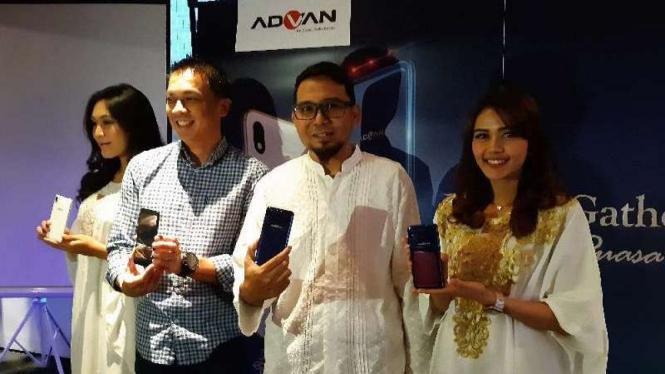 Peluncuran smartphone Advan i6C.