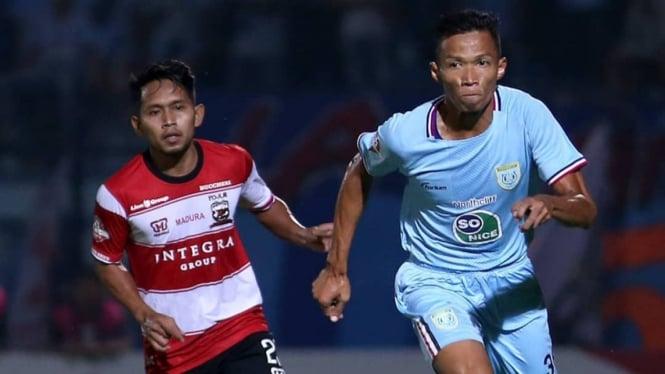 Duel Persela vs Madura United di Liga 1 2019.