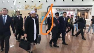 Foto Prabowo pergi keluar negeri viral jelang penetapan KPU 22 Mei