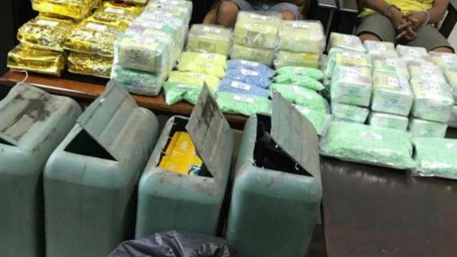 Operasi narkoba di Dumai, Riau digagalkan