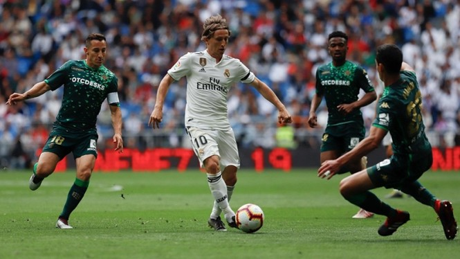 Pertandingan Real Madrid vs Real Betis