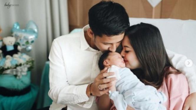 Tasya Kamila, suami dan bayinya