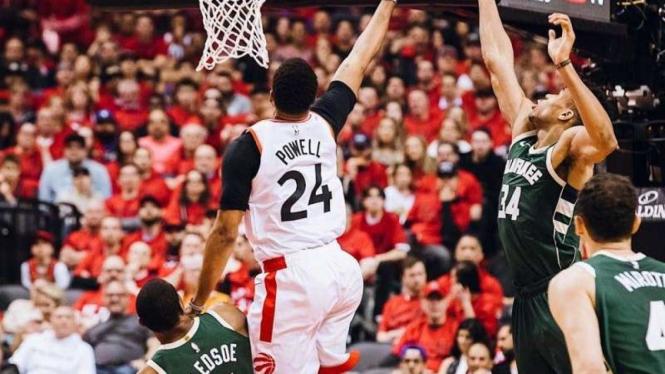 Laga semiifinal Wilayah Timur NBA 2019 antara Milwaukee Bucks vs Toronto Raptors