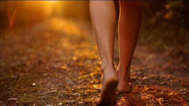 Olahraga jalan kaki.