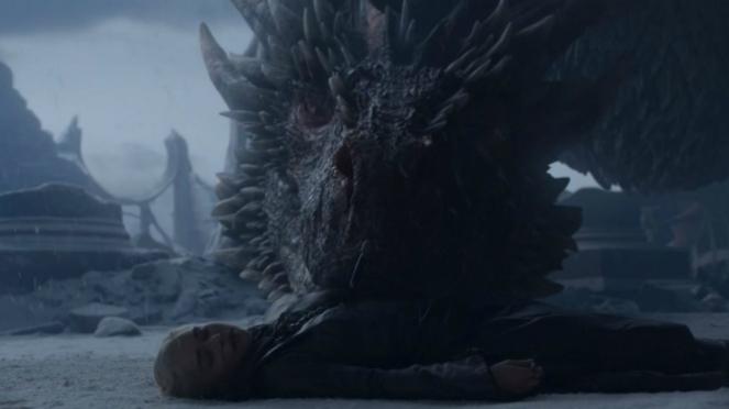 Daenerys tak bernyawa.