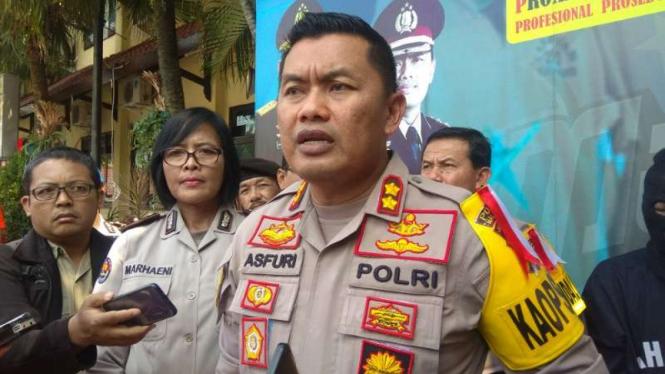 Kapolres Malang Kota, Ajun Komisaris Besar Polisi Asfuri.