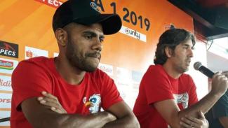 Konfrensi Pers Bali United vs Bhayangkara FC