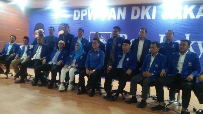 DPW PAN DKI Jakarta, Senin, 20 Mei 2019.
