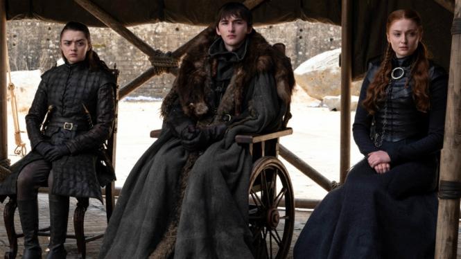 Keluarga Stark di episode final Game of Thrones