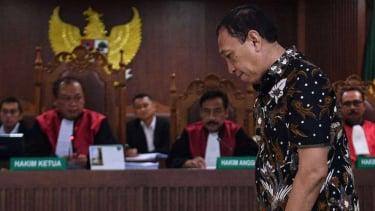 Sekjen KONI Ending Fuad Hamidy di sidang Pengadilan Tipikor Jakarta