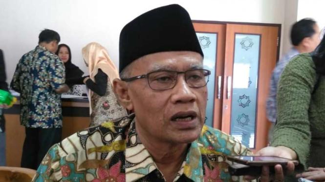 Ketua Umum Muhammadiyah Haedar Nashir.